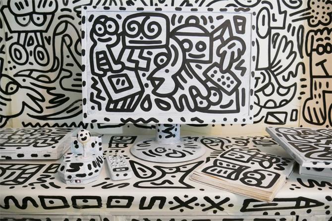 Mr Doodle's Bedroom - Mr Doodle